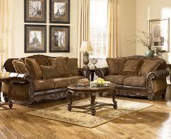 Decor Rustic Style Sofa Ashley Furniture Oakland For Sale