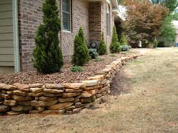 flagstone or natural stone retaining walls tampa french drains