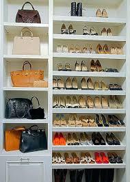 closet organizers shoe shelf built in shelves closets shelve master shelving ideas storage