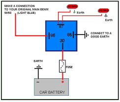 4 pin relay wiring diagram diagram pinterest diagram 4 Wire Relay Wiring Diagram 12vdc Relay Wiring Diagram #19