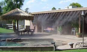 Amazoncom Patio Misting System MC560  45 Feet Mist Line Backyard Misting Systems