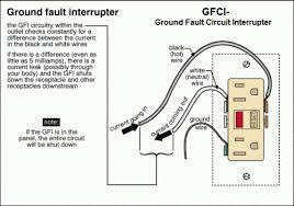 gfci wiring diagram out ground wiring diagram and schematic wiring diagrams multiple receptacle outlets do it yourself help