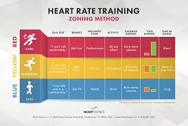 Myzone Color Chart Zoning Heart Rate Training Methodology