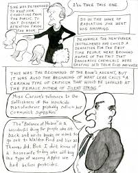 rachel s war a cartoon essay on rachel carson s last years bill  rachel7