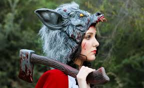 little red riding hood zombie red riding hood 39 s revenge costume makeup tutorial