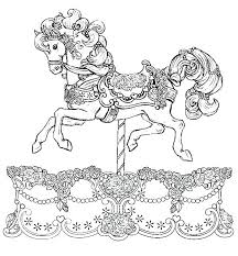 Wild Horse Herd Coloring Pages Color Of Horses A Racing Barrel