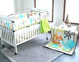 safari crib pers baby bedding animal print set year elephants monkeys tigers safari crib pers bedding