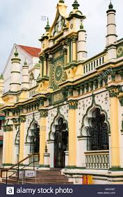 Singapore, Little India, Dunlop Road, Masjid Abdul Gafoor Stock Photo -  Alamy