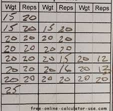 Online Exercise Tracker Printable Workout Log Sheet Maker To Organize And Track Workouts