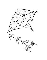 Small Picture Kite coloring pages with clouds ColoringStar