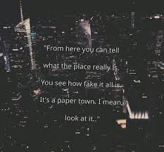 Paper Towns Quotes Amazing QuotIt48s A Paper Townquot Image 48 By Marine48 On