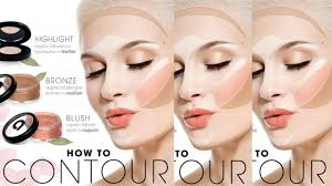 how to put makeup on your face how to contour for your face shape makeup tutorials