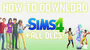 all fee download the sims 4 free download all dlcs expansion packs included youtube