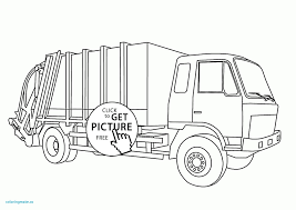 free printable construction truck coloring pages dump wonderful garbage luxury of gallery