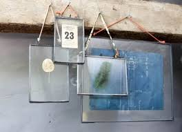 nu grey zinc picture photo frame 8 x 10 portrait kiko glass double sided for