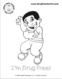 Red Ribbon Color Pages Drug Coloring Pages Jeannettecliftgeorge Com