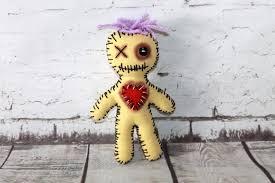 voodoo doll creepy doll handmade voodoo