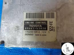 TOYOTA OPA AUTOMATIC ECU (ENGINE CONTROL UNIT) 89661-63020 JDM 1ZZ ...