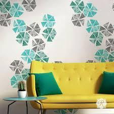 wall art stencils homebase