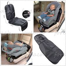 pvc leather infant duomat 2 in 1 car seat mat protector baby pad waterproof
