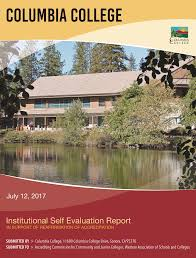 Columbia College Institutional Self Evaluation Report 2017 1