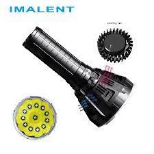 IMALENT MS12 LED El Feneri CREE XHP70 53000 Lümen Su Geçirmez Flaş ışığı  Ile Akıllı Şarj