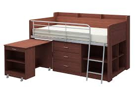 com rack furniture clairmont loft bed espresso kitchen dining