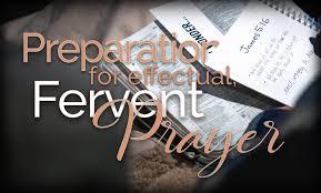 Preparation Effectual, Fervent Prayer - Enewsletter - Benny Hinn Ministries