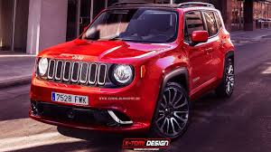 jeep 2015 lineup. unveiled about a week ago at the geneva motor show tiny and cute 2015 jeep renegade is already popular among u201cwhat ifu201d photoshoppers lineup