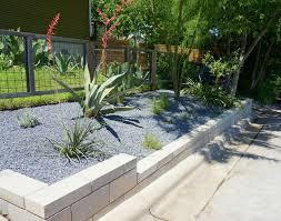 cinder block garden wall. Modern Retaining Wall Project Cinder Block Garden