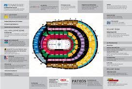 Bridgestone Arena Maplets