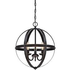 best modern farmhouse chandelier rustic globe lamp candle orb pendant 3 light