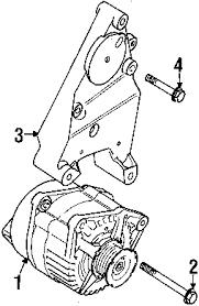 parts com® land rover bracket alternator partnumber err7278 2001 land rover discovery series ii se v8 4 0 liter gas alternator