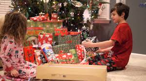 Kids Reaction Opening Presents on Christmas Day - YouTube