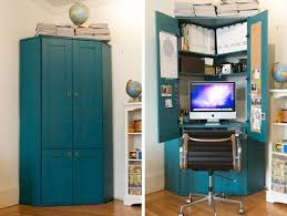 home office armoire.  Office Corner Office Armoire Inspirational Jordan S Tucked In A Hideaway  Home Fice Throughout I