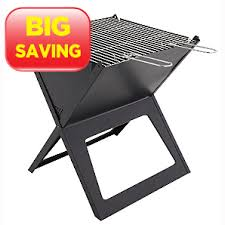 ASDA Fold Flat Portable BBQ is on sale, perfect for a Summer afternoon!
