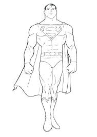 Download the perfect superman pictures. Coloring Pages Superman Coloring Page
