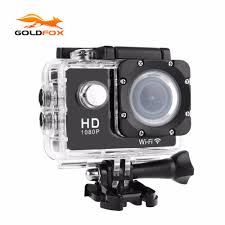 Goldfox 1080p Full Hd Wifi Action Camera 30m Go Waterproof Pro