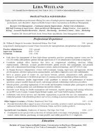health information management internship resume