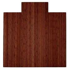chair mat with lip. Bamboo Floor Mat Roll Up Chair With Lip Hardwood Protector Office Desk