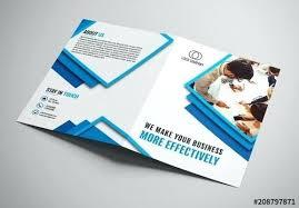 Buy Brochure Templates X Bi Fold Brochure Template Flyer Indesign Illustrator Size