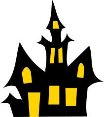 Haunted House clipart simple #2