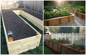 Small Picture Raised Garden Bed Ideas Frugal Gardening Four Inexpensive Raised