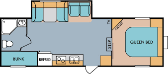 rv floor plans. 2017 Riverside RV Retro 526RB Fifth Wheel Floorplan Rv Floor Plans -