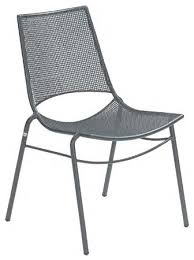 furniture gorgeous metal patio chairs