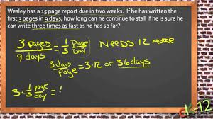 solving real world problems with linear equations an algebra i