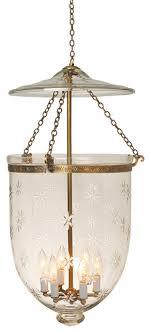 star etching hundi glass bell jar lantern 14d antique brass traditional pendant bell jar lighting fixtures