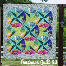 Fandango Quilt Kit by Tula Pink &  Adamdwight.com