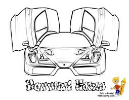 Ferrari Coloring Pages For Kids