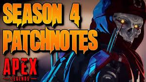 Apex Legends Season 4 alle Patch notes ...